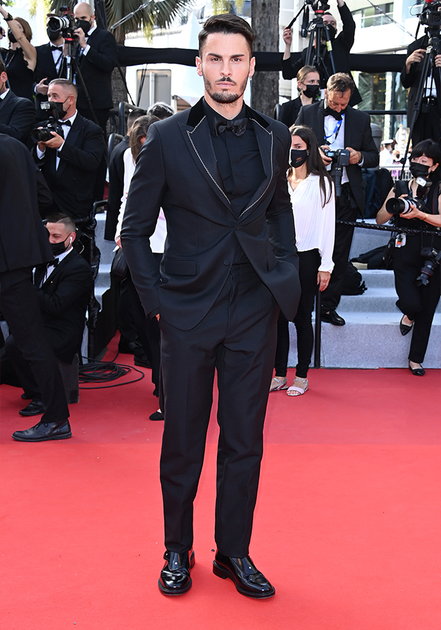 Батист Джиабикони в образе от Dior