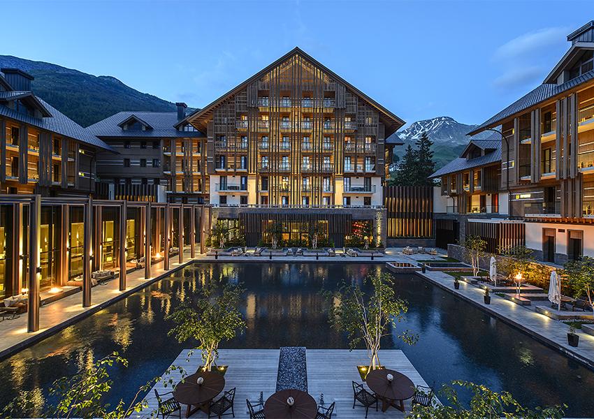 The Chedi Andermatt (Швейцария)
