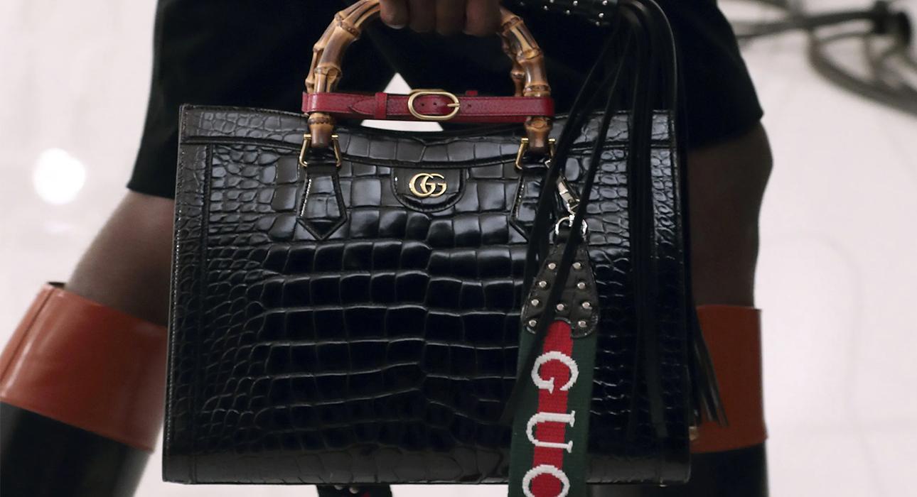 Gucci и их новая версия знаменитой Diana Bag