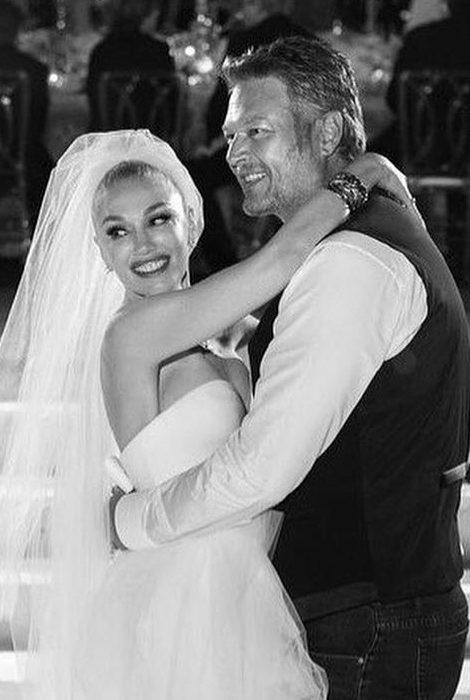 Пара недели: 51-летняя Гвен Стефани вышла замуж за 45-летнего Блейка Шелтона