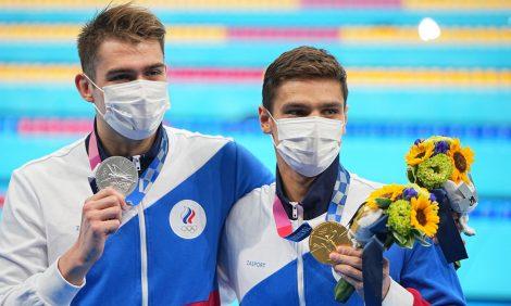 Men in Power: российские пловцы и гимнасты взяли золото в Токио