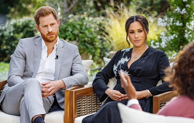Принц Гарри и Меган Маркл на интервью у Опры Уинфри