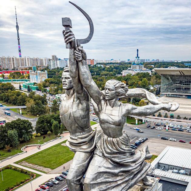 Город: «Рабочий и колхозница» на ВДНХ станет смотровой площадкой