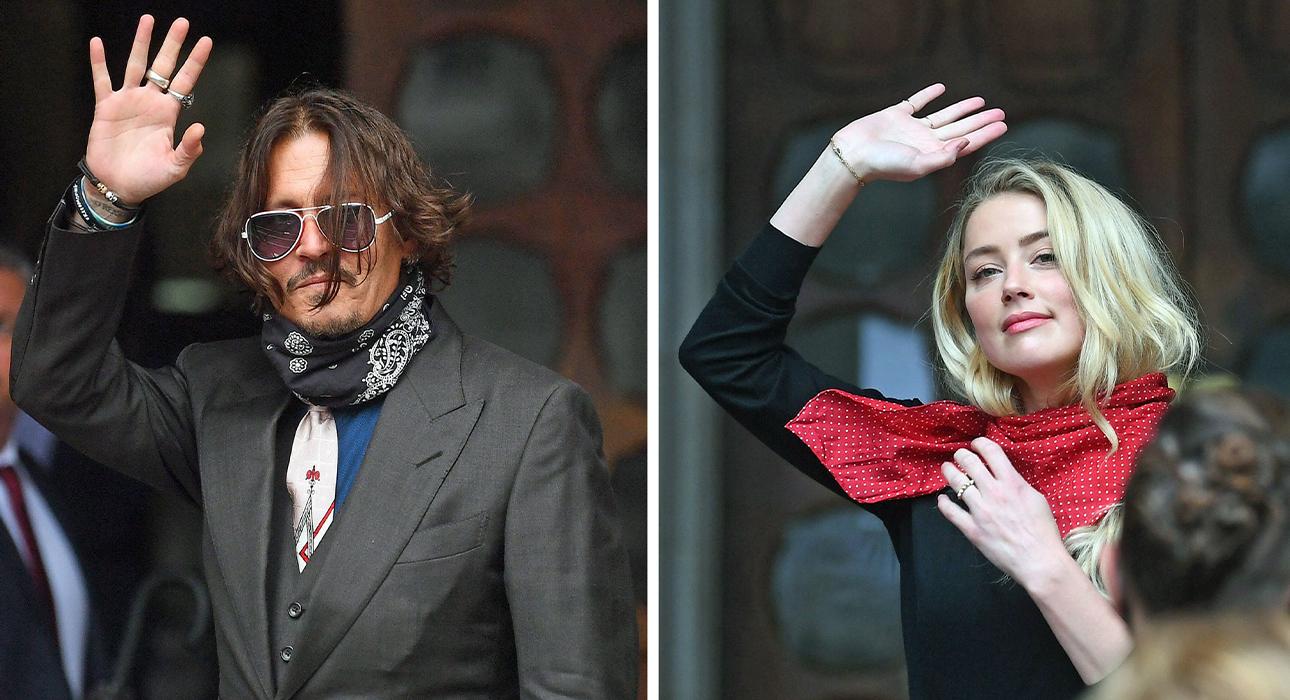 Джонни Депп и Эмбер Херд