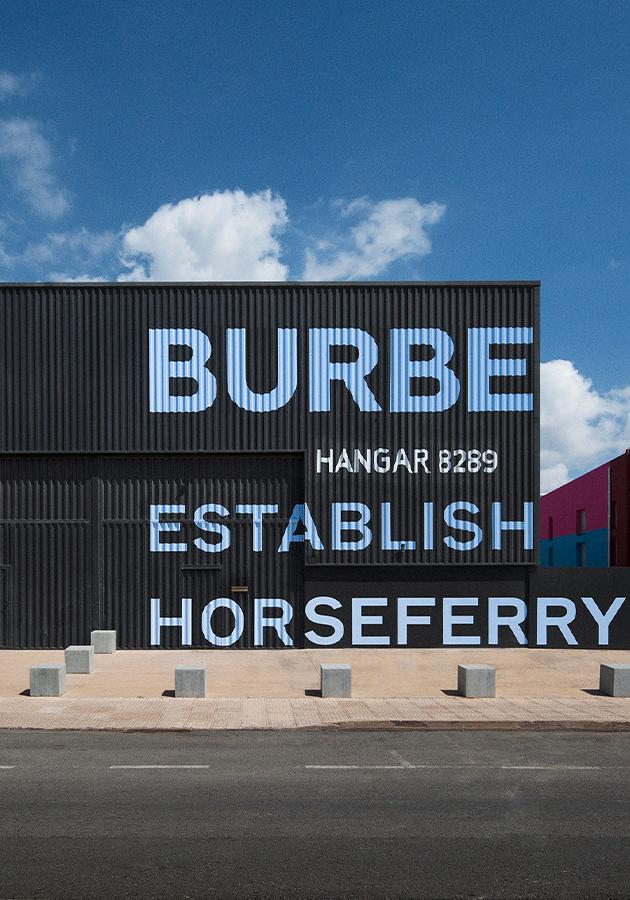 Пляжный клуб и поп-ап-бутик Burberry на Ибице