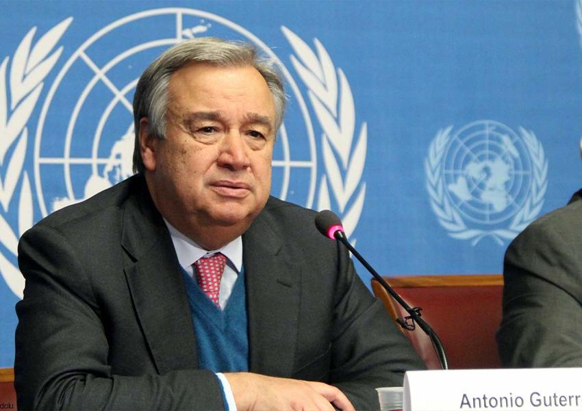 Антониу Гуттериш, генеральный секретарь ООН