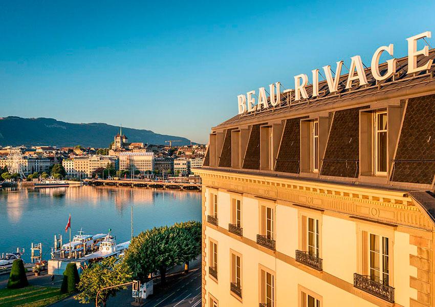 Beau-Rivage Genève — Женева, Швейцария