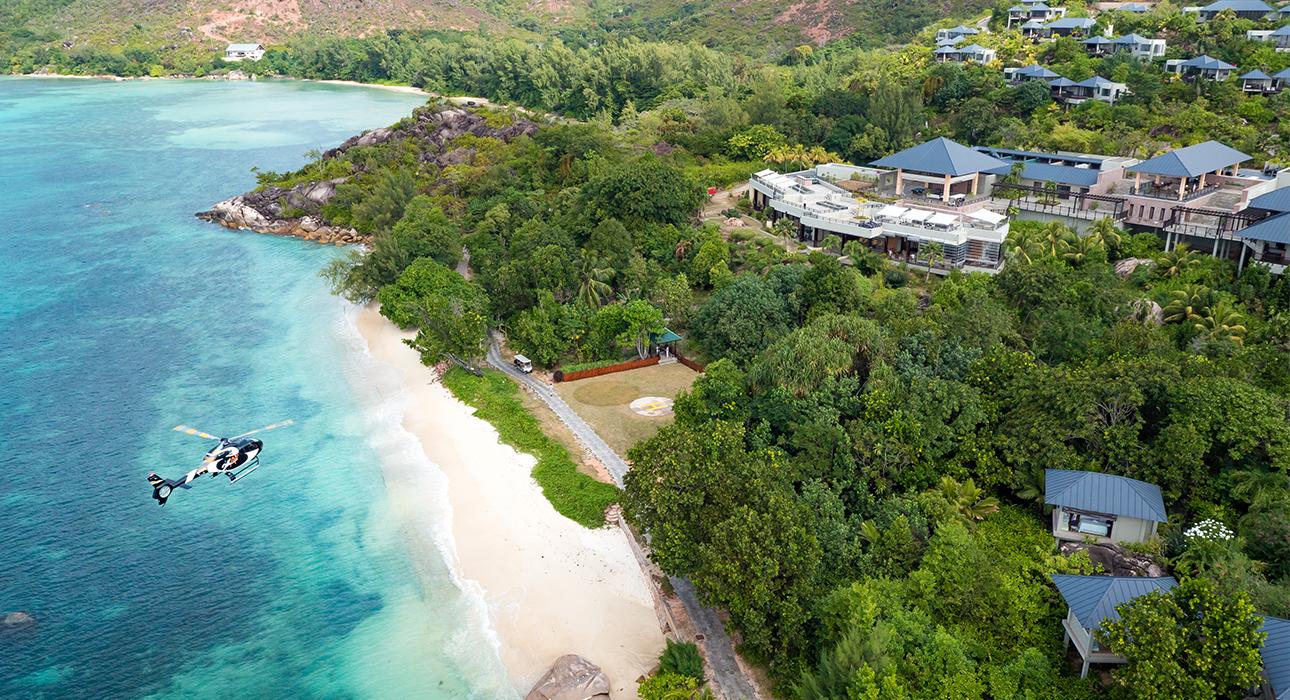 Hotel Raffles Seychelles (Праслен, Сейшельские острова)