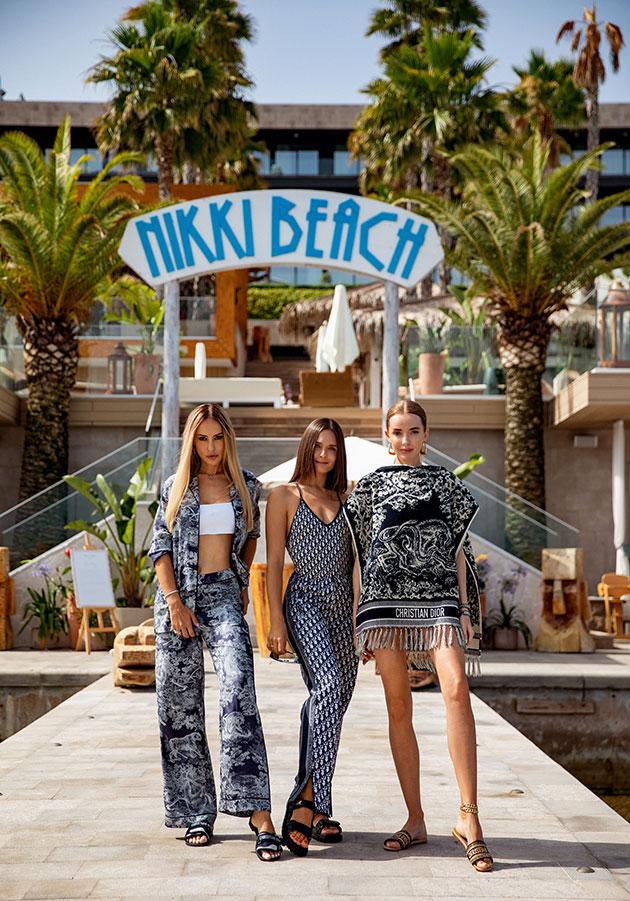 В этом году в Черногории открылся Nikki Beach Montenegro — и мы были первые, кто провел здесь фотосъемку.