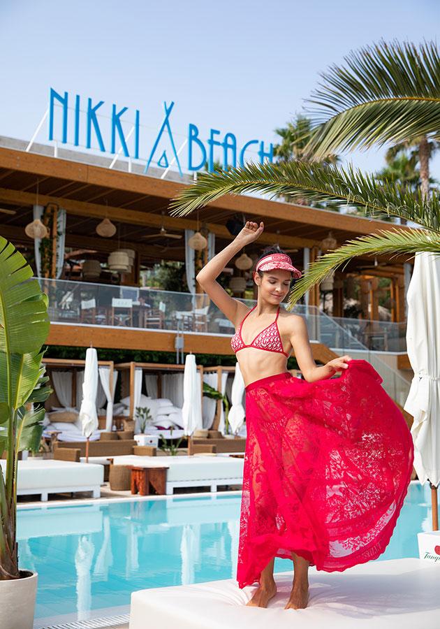 Dior on Nikki Beach