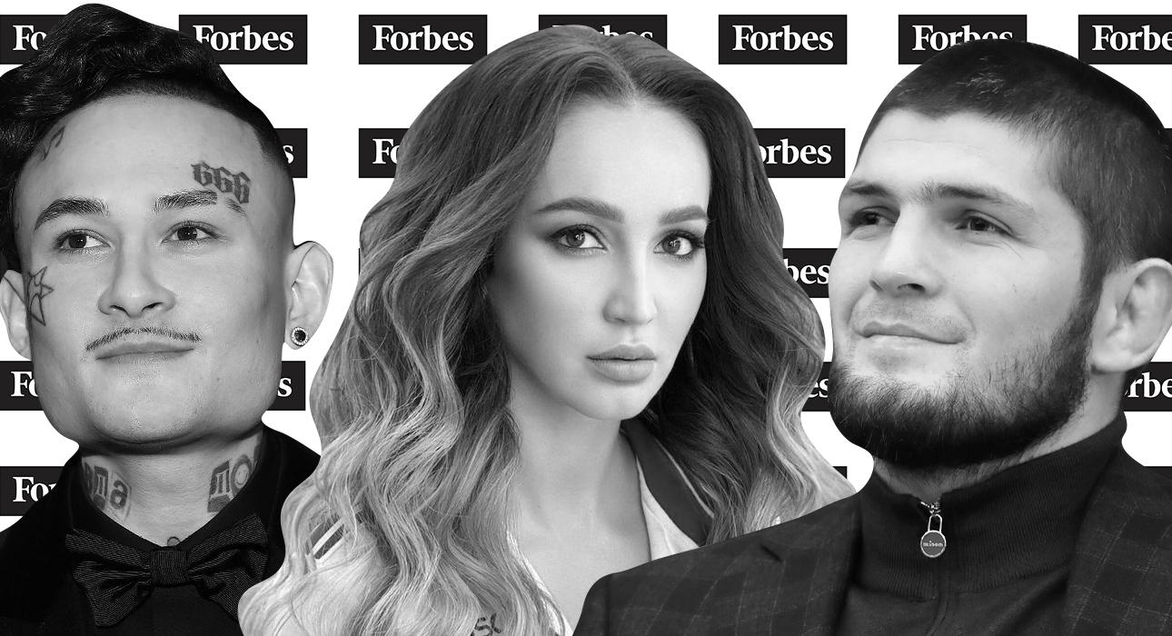 В списке самых успешных звезд России по версии Forbes — Моргенштерн, Бузова, Шнуров… и блогеры