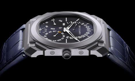 Часы & Караты: Bvlgari создаст часы Octo Finissimo Perpetual Calendar Tantalum для аукциона Only Watch