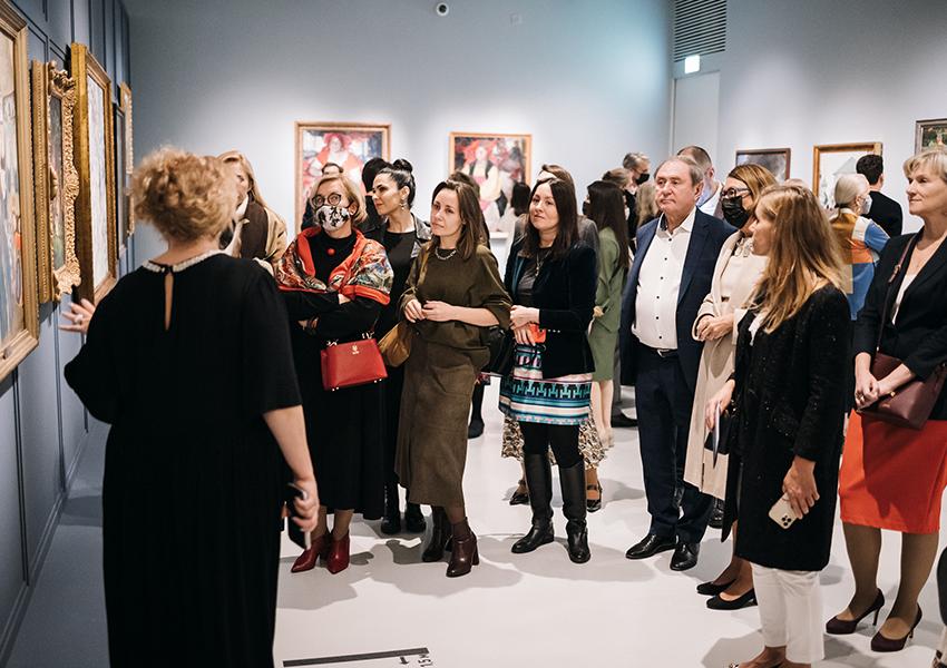 «Другие берега»: гости открытия выставки в Музее русского импрессионизма