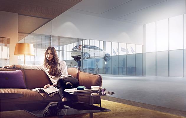 Коллаборация Volvo Car Russia и ЛитРес