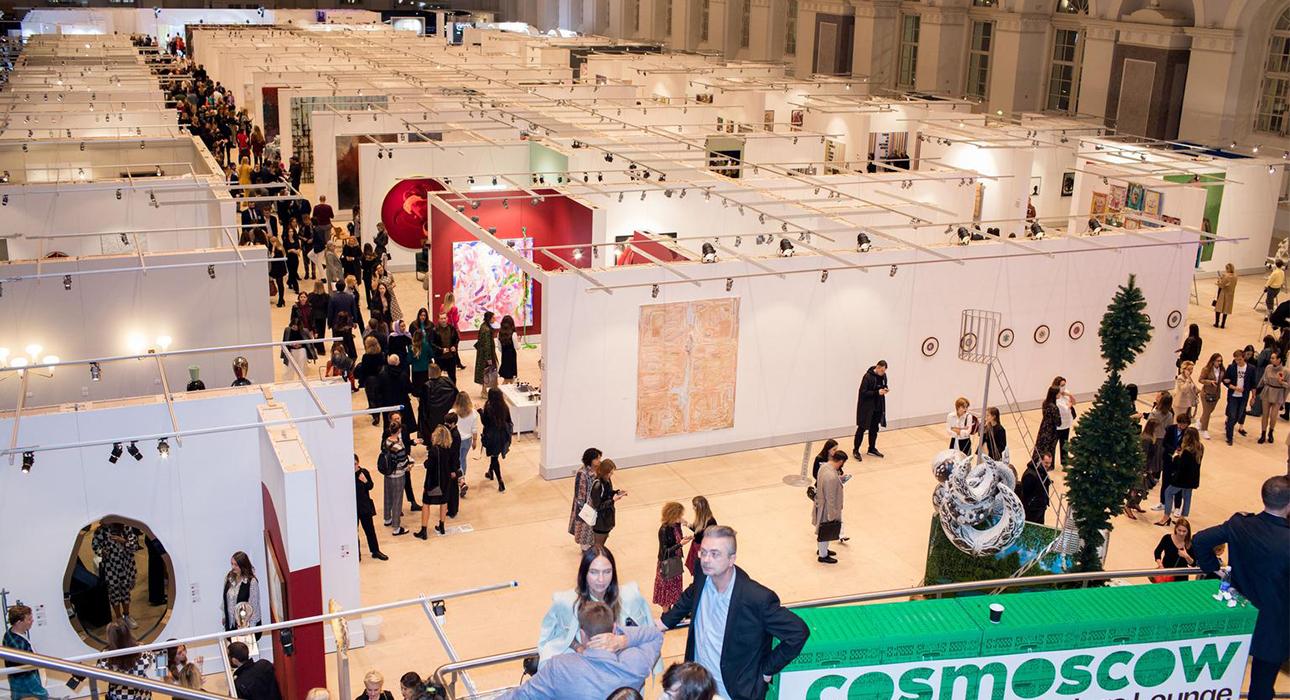 Открытие 9-й Международной ярмарки современного искусства Cosmoscow