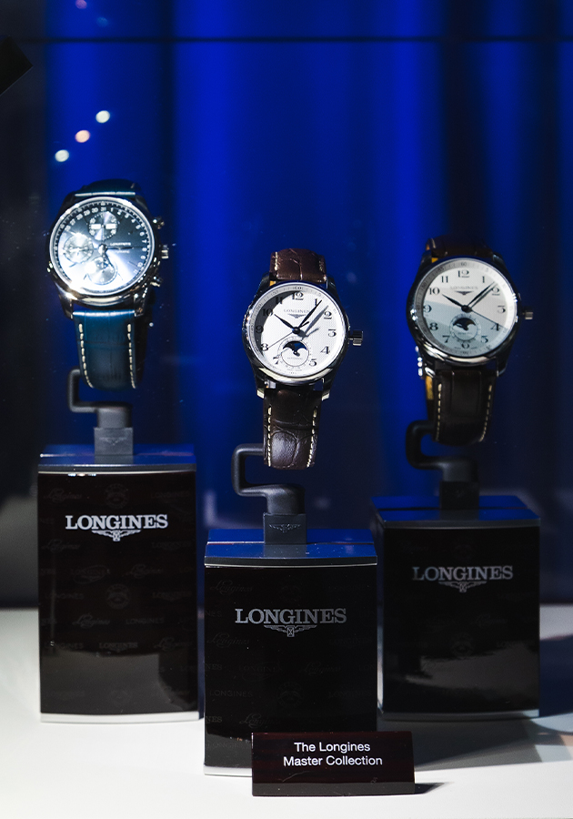 Открытие флагманского бутика Longines и презентация коллекции The Longines Master Collection