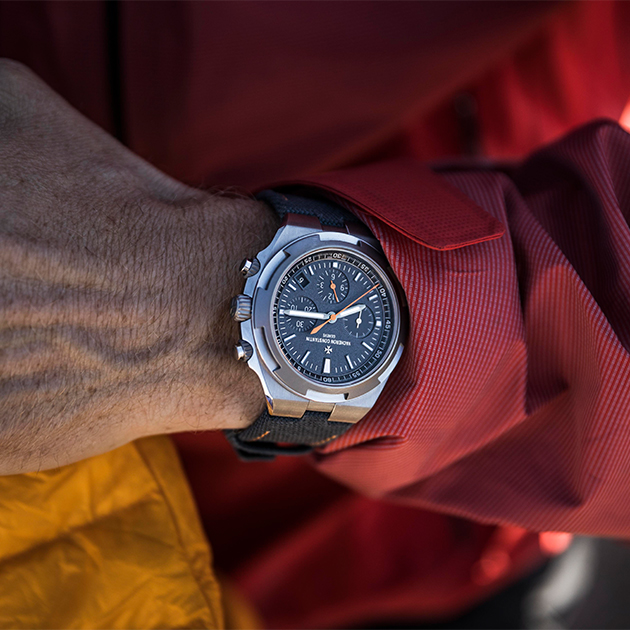 Overseas Everest: новые часы Vacheron Constantin в точности повторяют модель, в которой исследователь Кори Ричардс покорил Эверест