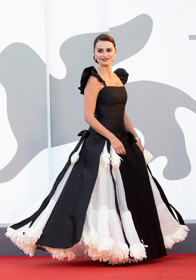 Пенелопа Крус в платье Chanel Haute Couture