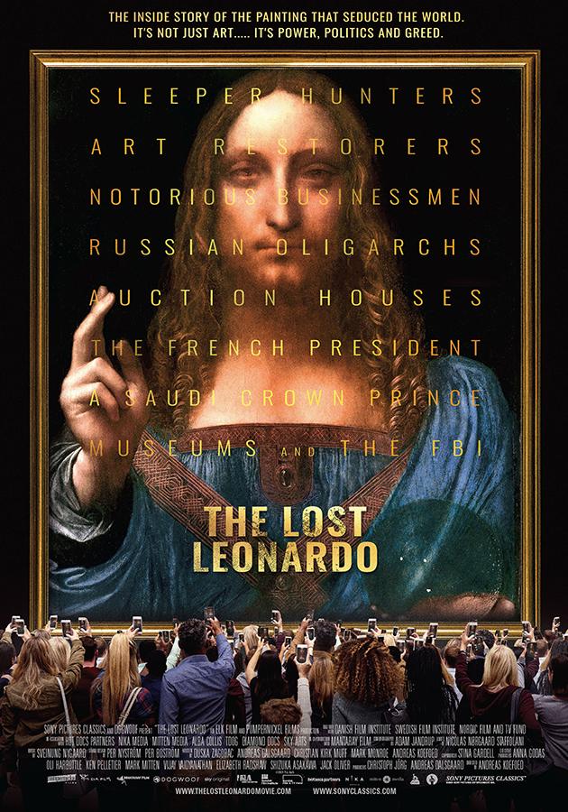 «Утраченный Леонардо», Андреас Кефед, 2021