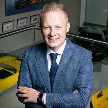 Митя Боркерт, глава студии дизайна Lamborghini
