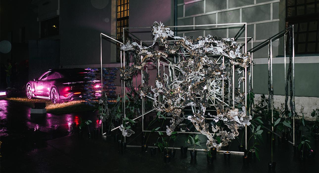 Инсталляция Porsche