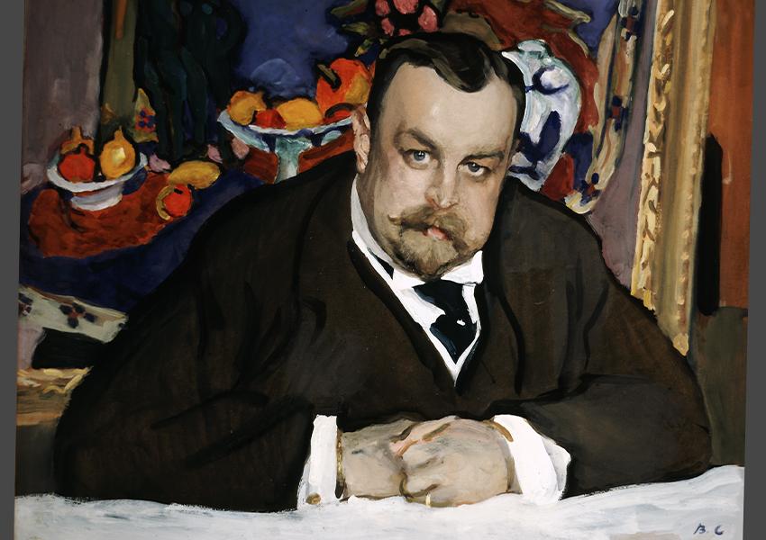 Валентин Серов. Портрет Ивана Морозова. 1910