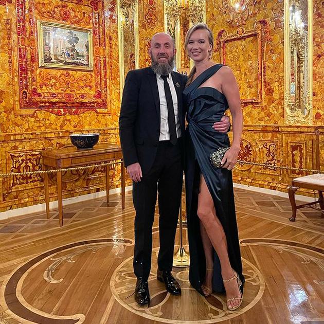 Ида Кехман с супругом