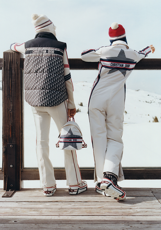 Style Notes: DiorAlps — зимняя капсула для идеальных каникул в Альпах
