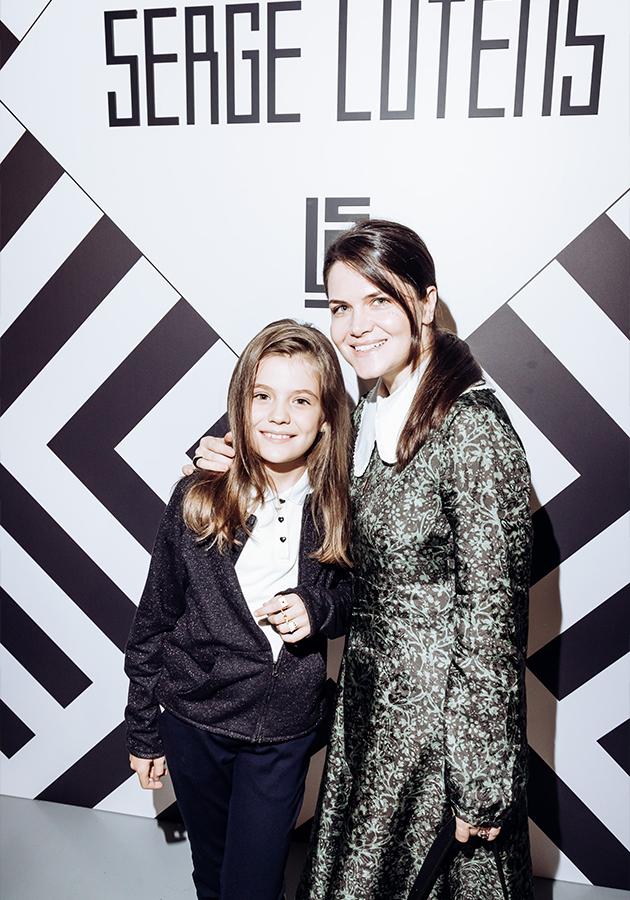 Аниса Ашику с дочерью Алексией