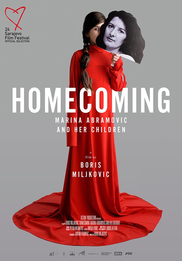 «Возвращение домой. Марина Абрамович и ее дети», Борис Миликович, 2020