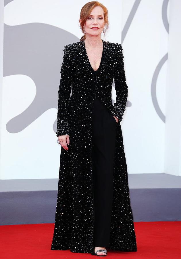 Изабель Юппер в платье Armani Privé и украшениях Cartier, «Дюна»