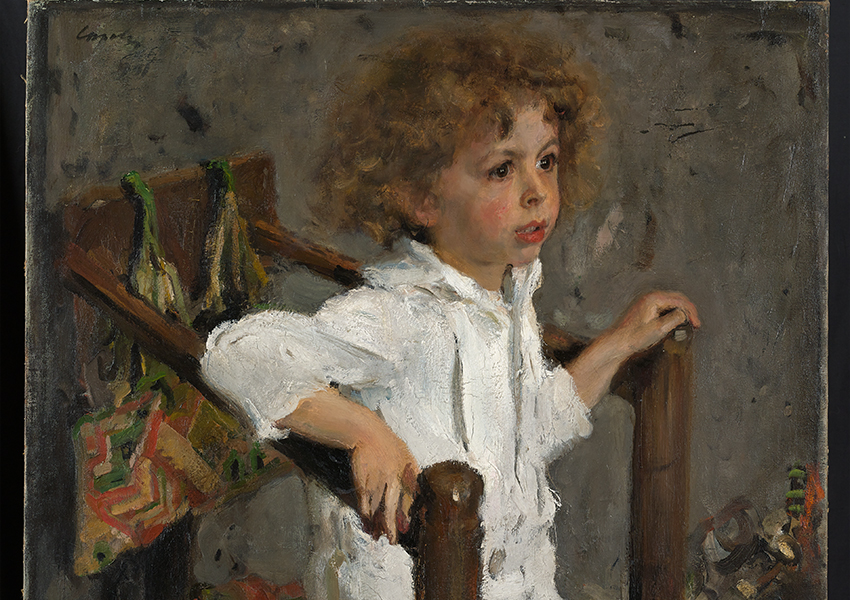 Валентин Серов. Портрет Мики Морозова. 1901