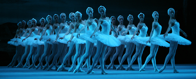 «Лебединое озеро», современная постановка Большого театра