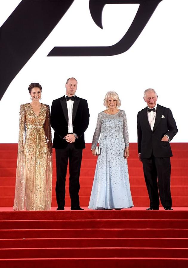 Герцогиня Кембриджская Кейт Миддлтон, принц Уильям, герцогиня Корнуольская Камилла, принц Чарльз