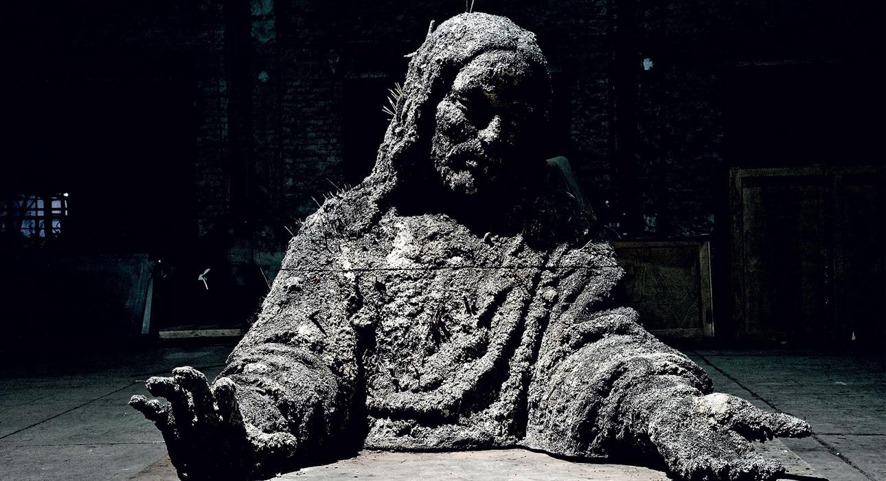 «Пепельный Иисус». Чжан Хуан