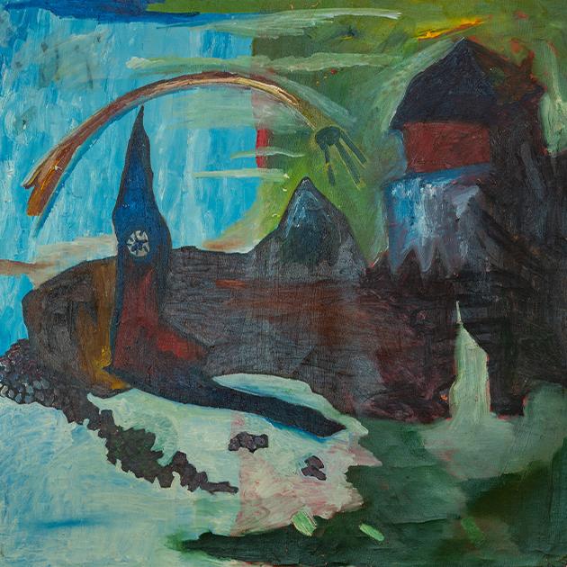 Григорий Стрельников. Линден — столица Англии. 1989 (с) Предоставлено галереей ГУМ-Red-Line