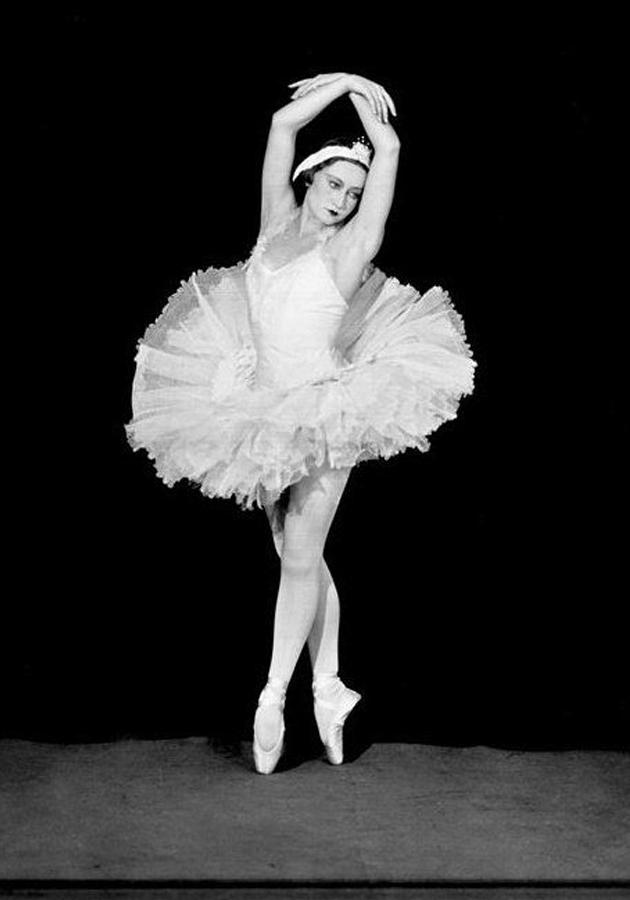 Галина Уланова — «Одетта», 1938