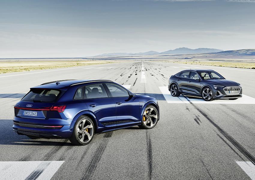 Audi e-tron S и Audi e-tron S Sportback