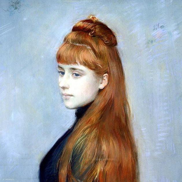 Пол Сезар Элле. «Портрет Алисы Герен». 1900