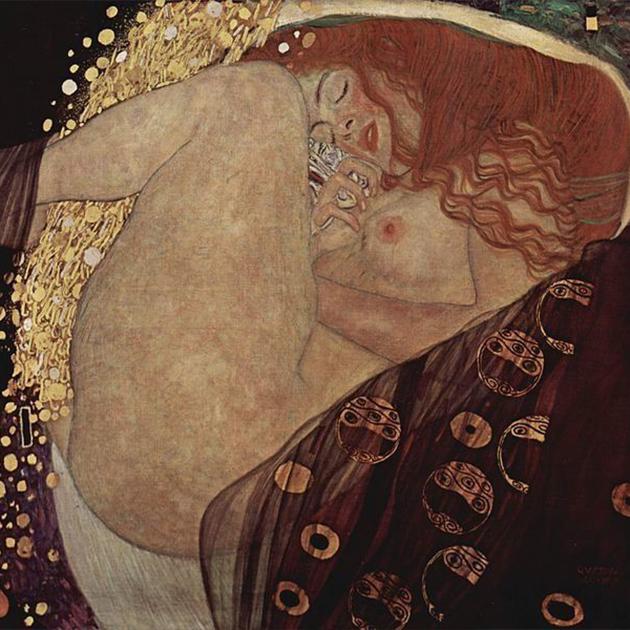 Густав Климт. «Даная». 1907-1908