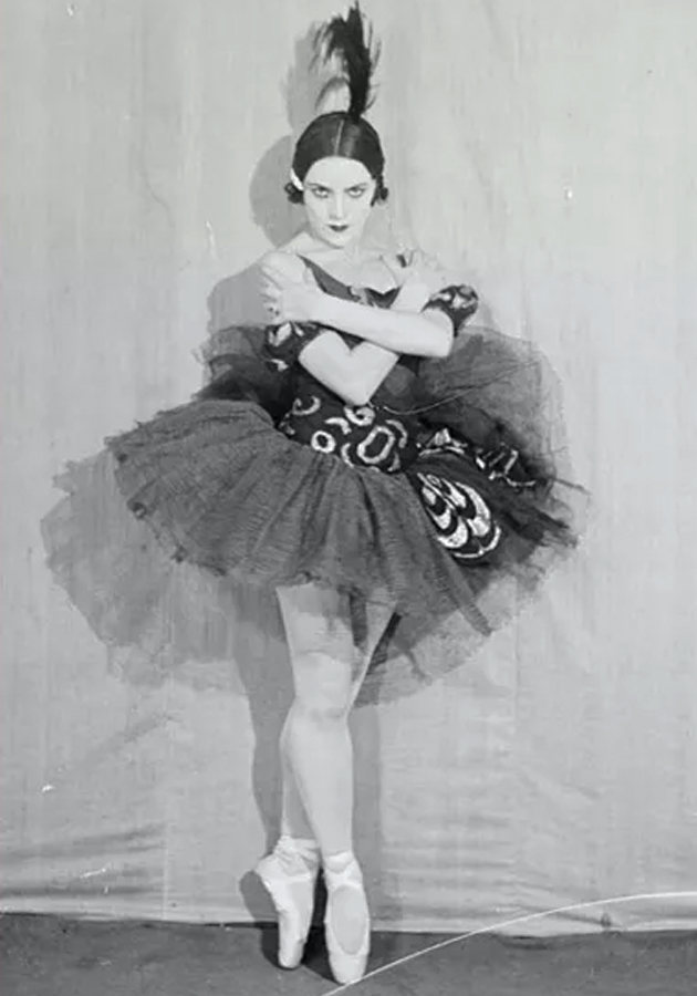Ольга Иордан — «Одиллия», 1937