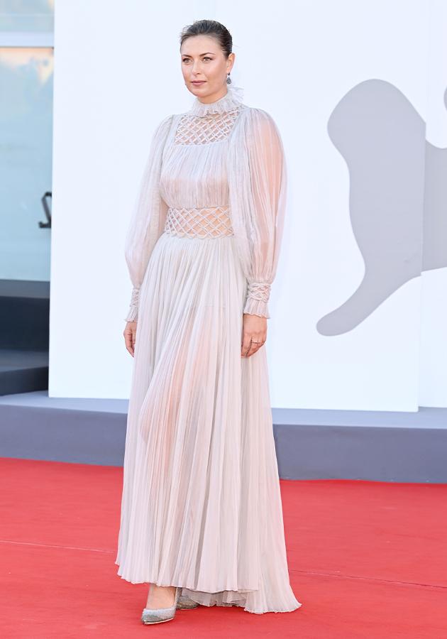 Мария Шарапова в платье Dior