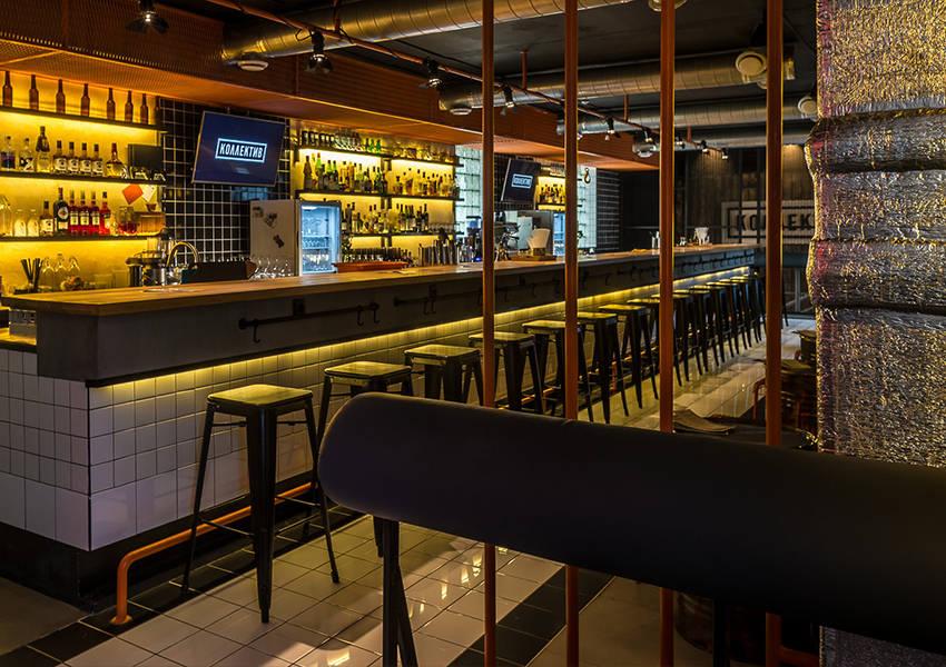 Speakeasy-бар «Коллектив», лучший бар по версии Wheretoeat Ural 2021