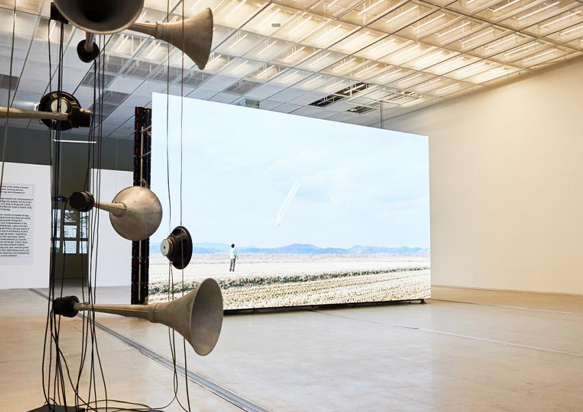Выставка «Новости из ниоткуда, деревня свободы в Музее современного искусства в Сеуле