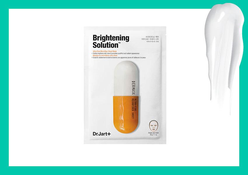 Детокс-маска Dermask Micro Jet Brightening Solution, Dr.Jart