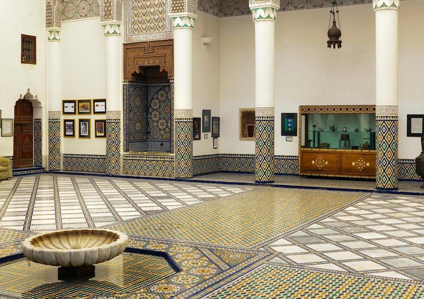 Дворец Дар-Си-Саид — здесь находится Музей марокканского искусства.