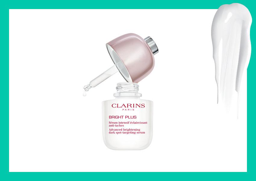 Сыворотка, способствующая сокращению пигментации и придающая сияние коже Bright Plus Serum, Clarins