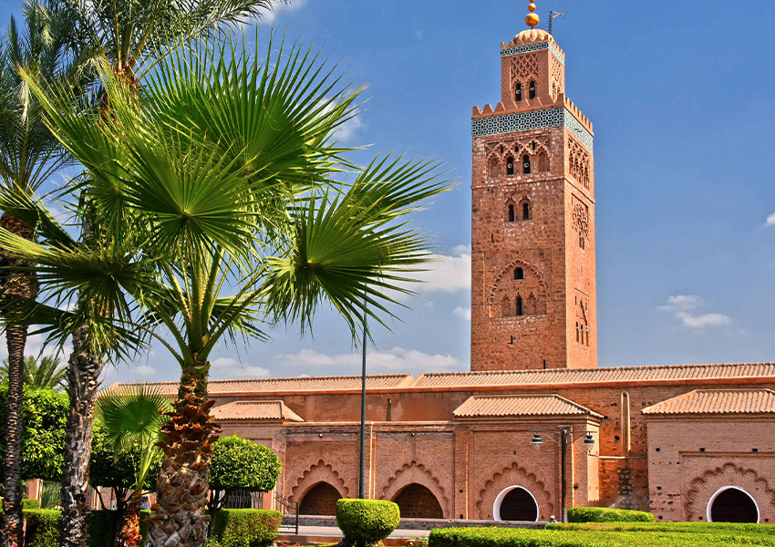 Мечеть Кутубия — самая высокая постройка города.