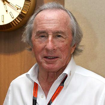 Сэр Джеки Стюарт, трехкратный чемпион мира FIA Formula 1®