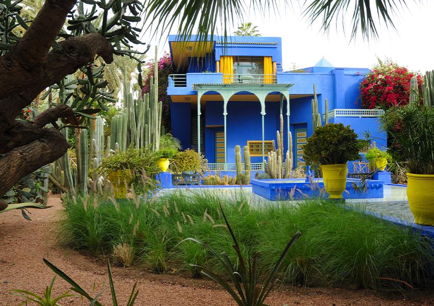Ботанический сад Мажорель — здесь ищите Музей исламского искусства, где хранятся ткани из личного собрания Ива Сен-Лорана и полотна Жака Мажореля.